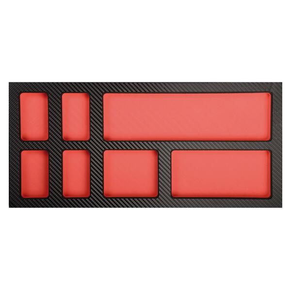 PROJAHN ProForm Werkstattwagen-Einlage mit 7 Fächern für Kleinteile