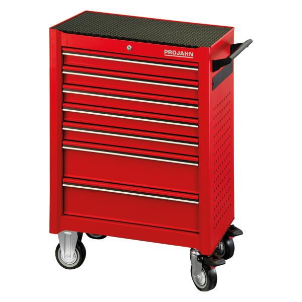 PROJAHN UNIVERSE Werkstattwagen 7 Schubladen Rot