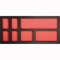 PROJAHN UNIVERSE Werkstattwagen 320-tlg. bestückt Rot
