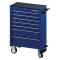 PROJAHN UNIVERSE Werkstattwagen 7 Schubladen Blau