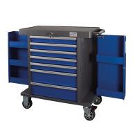PROJAHN SPACE Werkstattwagen 7 Schubladen Blau