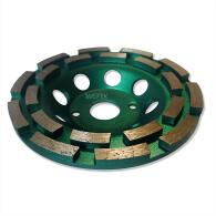 Diamant-Topfschleifer Profi doppelreihig Ø 125 mm Aufnahme 22,2 mm Bauhöhe 22 mm