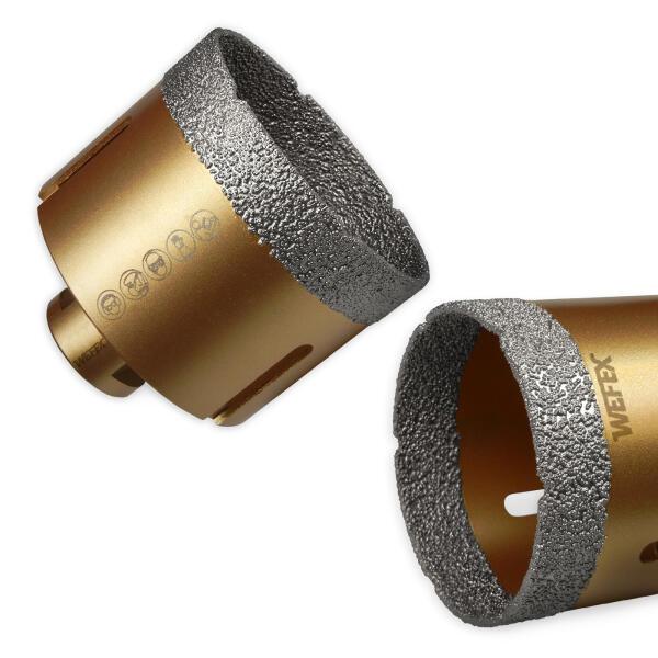 Diamant-Fliesenbohrkrone Vakuum-Profi Ø 125 mm M14