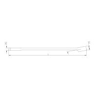 PROJAHN Langer Ringgabelschlüssel 8 mm L148 mm DIN 3113 A