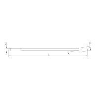 PROJAHN Langer Ringgabelschlüssel 12 mm L197 mm DIN 3113 A