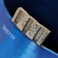 "Diamant-Bohrkrone Beton-Profi Ø 122 mm 1 1/4"" UNC Nutzlänge 410 mm"