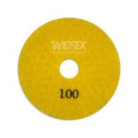 Diamant-Schleifpad Trockenschliff Ø 100 mm Körnung 100