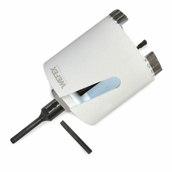 Diamant-Dosensenker Laser-Beton Ø 82 mm M16 Set Zentrierbohrer und SDS-plus Adapter