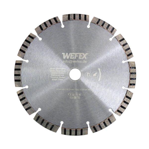 Diamant-Trennscheibe Laser-Turbo Ø 178 mm Aufnahme 22,2 mm