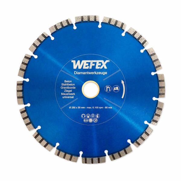 Diamant-Trennscheibe Laser-Turbo Ø 600 mm Aufnahme 25,4 mm
