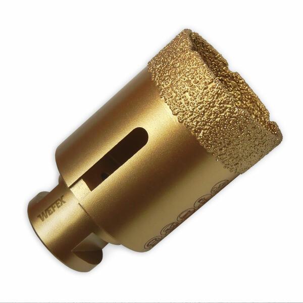 Diamant-Fliesenbohrkrone Vakuum Premium Ø 45 mm M14