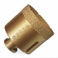Diamant-Fliesenbohrkrone Vakuum Premium Ø 65 mm M14