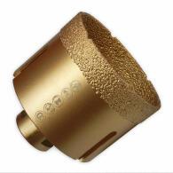 Diamant-Fliesenbohrkrone Vakuum Premium Ø 80 mm M14