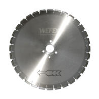 Diamant-Trennscheibe Block Cut Kalksandstein Ø 625 mm Aufnahme 60,0 mm