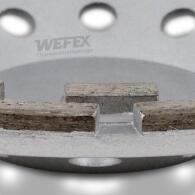 Diamant-Topfschleifer Beton doppelreihig Ø 230 mm...