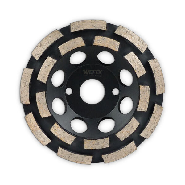Diamant-Topfschleifer Abrasiv doppelreihig Ø 150 mm Aufnahme 22,2 mm Bauhöhe 24 mm