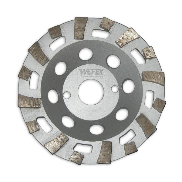Diamant-Topfschleifer Beton Cup Spezial Ø 125 mm Aufnahme 22,2 mm