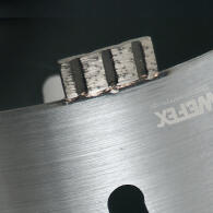 Diamant-Trockenbohrkrone Turbo Segment Ø 102 mm M16 Nutzlänge 170 mm