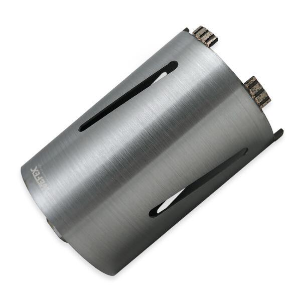 Diamant-Trockenbohrkrone Turbo Segment Ø 142 mm M16 Nutzlänge 170 mm