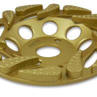 Diamant-Topfschleifer Tiger Cup Pro Ø 125 mm Aufnahme 22,2 mm Bauhöhe 22 mm