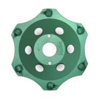 Diamant-Schleifteller PKD-Cup 6 Segmente Ø 180 mm...