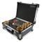 Diamant-Fliesenbohrkronen Set 12-tlg. Vakuum Premium M14 für Winkelschleifer im Koffer