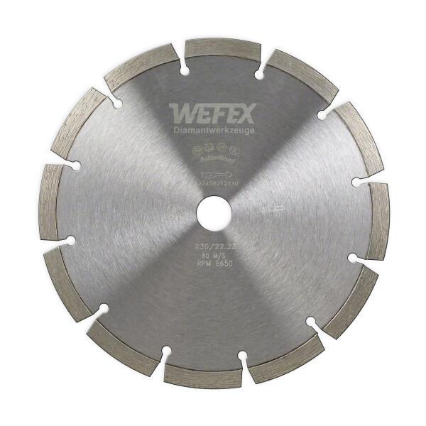 Diamant-Trennscheibe Laser Beton Ø 230 mm Aufnahme 22,2 mm