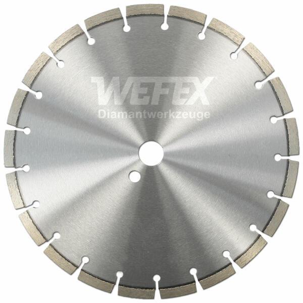 Diamant-Trennscheibe Laser Bau Ø 300 - 350 mm Aufnahme 25,4 mm