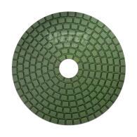 Diamant-Schleifpad Naßschliff Ø 100 mm Körnung 200