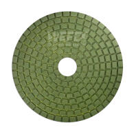 Diamant-Schleifpad Naßschliff Ø 100 mm Körnung 1500