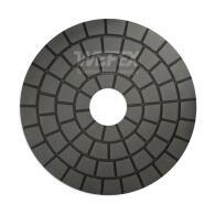 Diamant-Schleifpad Naßschliff Ø 100 mm Körnung 10000 dunkel