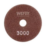 Diamant-Schleifpad Trocken-Nass-Schliff Ø 100 mm Körnung 3000