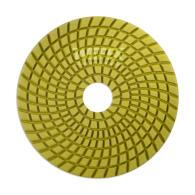 Diamant-Schleifpad Set 4-tlg. Nass-/Trockenschliff Ø 100 mm