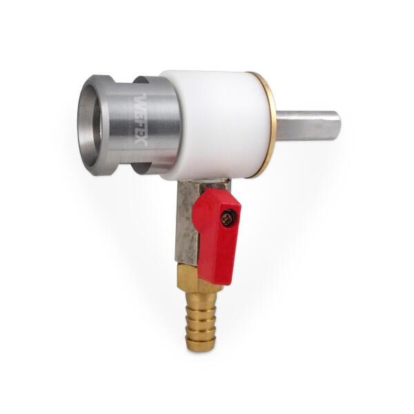 Wasserspülkopf zum Nassbohren auf Bohrmaschinen