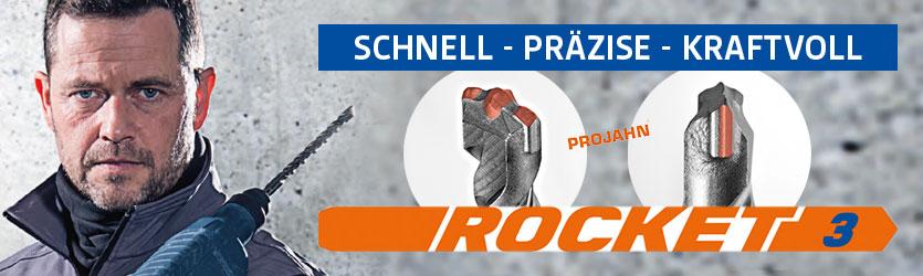 Projahn Rocket 3 Hammerbohrer